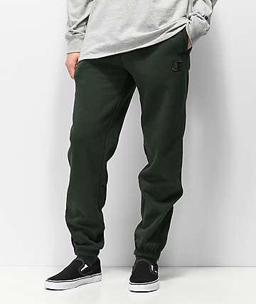 Champion Super Fleece 2.0 Spruce pantalones deportivos verdes
