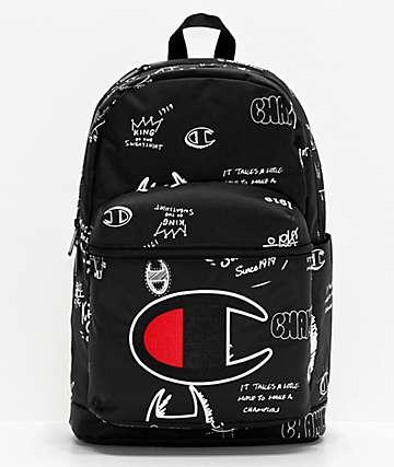 Champion Supercize 2.0 Black & White Backpack