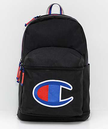 Champion Supercize Black Backpack