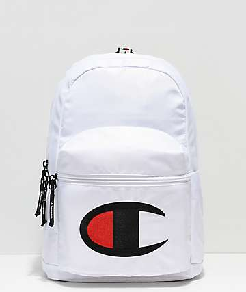 Champion Supercize White Mini Backpack