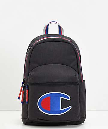 Champion Supercize mini mochila negra
