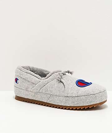 Champion University Grey Slippers