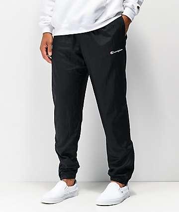 Champion Warm Up pantalones negros