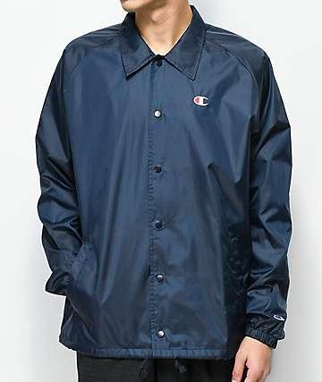 Champion West Navy Coaches Jacket