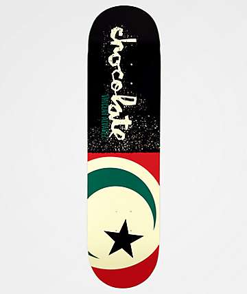 "Chocolate Alvarez Giant Flags 8.25"" Skateboard Deck"