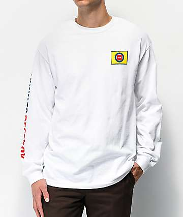 Chocolate D2D White Long Sleeve T-Shirt