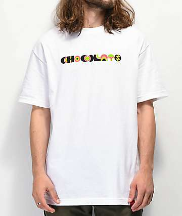 Chocolate Freakout White T-Shirt