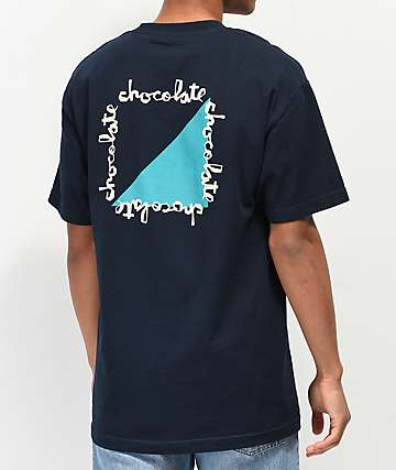 Chocolate Half Chunk Navy T-Shirt