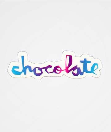 Chocolate OG Logo Sticker