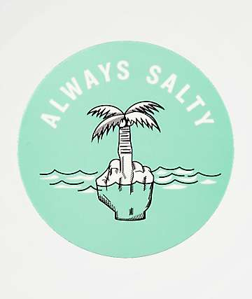 Chomp Always Salty Sticker