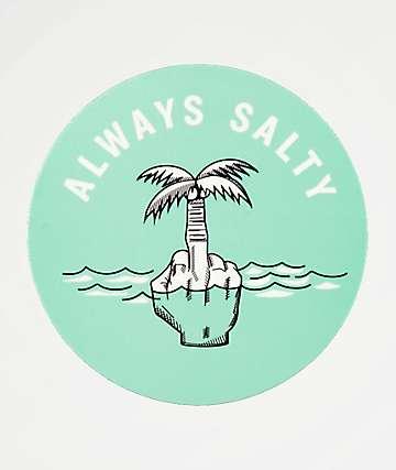 Chomp Always Salty Sticker