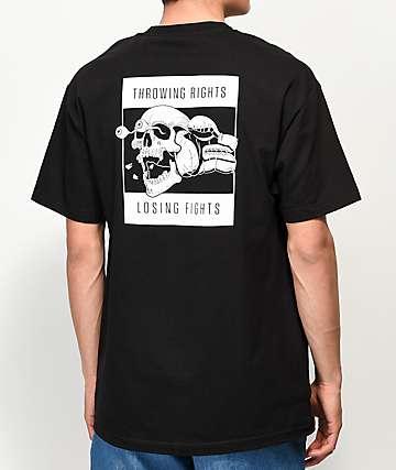 Chomp Throwing Rights Black T-Shirt