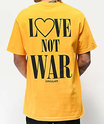 Circulate Activist Gold T-Shirt