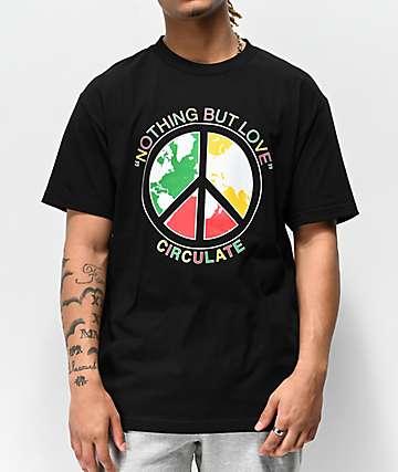 Circulate Nothing But camiseta negra