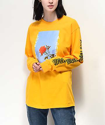 Civil Love Gold Long Sleeve T-Shirt