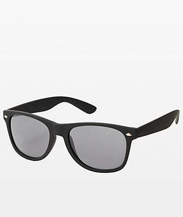 Classic Smooth Operator Matte Black Sunglasses