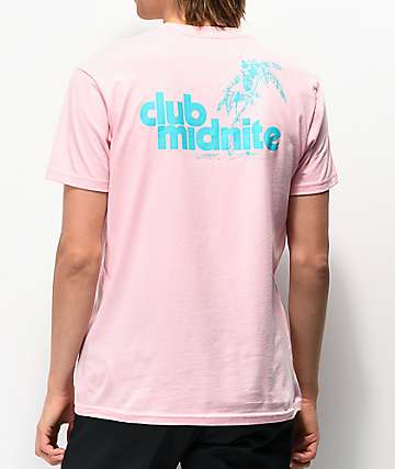 Club Midnite Nassau Pink T-Shirt