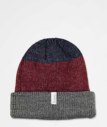 Coal Frena Charcoal Stripe Beanie