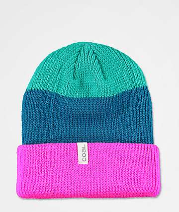 Coal Frena Magenta Stripe Beanie