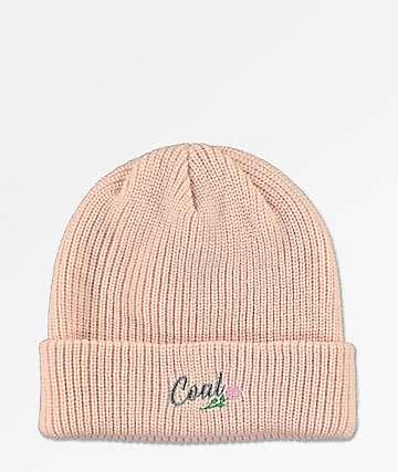 Coal Rosita Pink Beanie