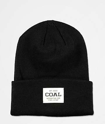 Coal The Uniform Black Beanie