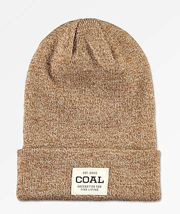 Coal The Uniform gorro marrón claro
