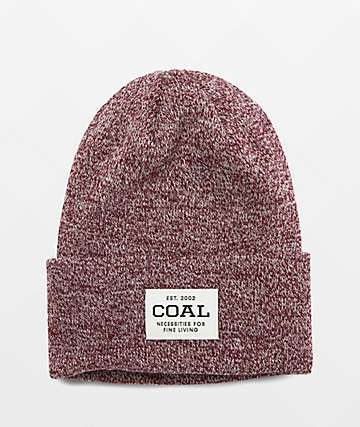 Coal Uniform Dark Burgundy Beanie