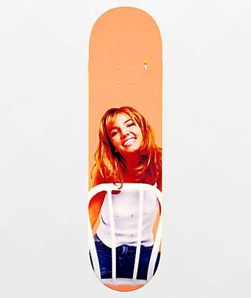 "Color Bars x Britney Spears Chair 8.12"" Skateboard Deck"