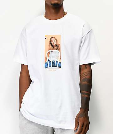 Color Bars x Britney Spears Chair White T-Shirt