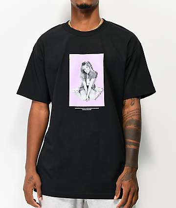 Color Bars x Britney Spears Pop Black T-Shirt