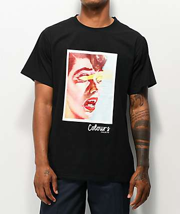 Colours Collectiv Astropire Black T-Shirt