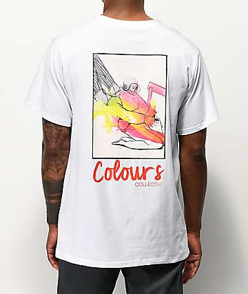 Colours Collectiv Rocket Girl White T-Shirt