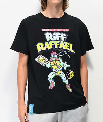 Colours Collectiv x Riff Raff Rafael Black T-Shirt