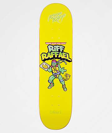 "Colours Collectiv x Riff Raff Raffael 8.1"" Skateboard Deck"