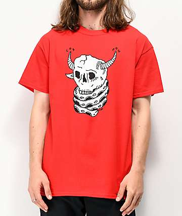 Common Brain Eater Red T-Shirt