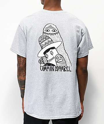 Common Grim camiseta gris