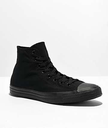Converse Chuck Taylor All Star Black Hi Top Shoes