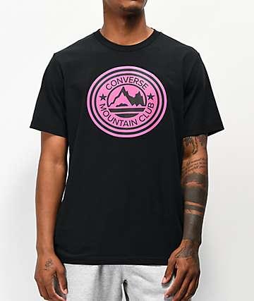 Converse Mountain Club Patch Black T-Shirt