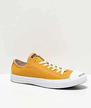 Converse Renew CTAS Ox Gold Dart & White Shoes