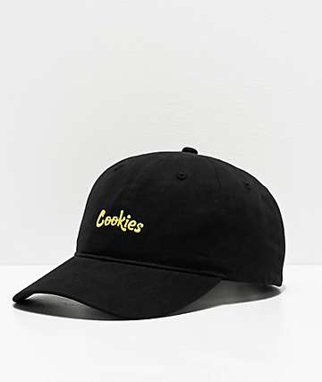 Cookies Thin Mint Black & Yellow Strapback Hat