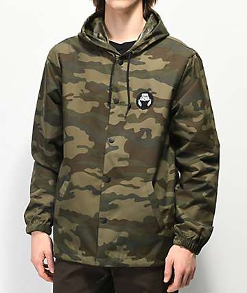 Crab Grab Patch Camo Jacket