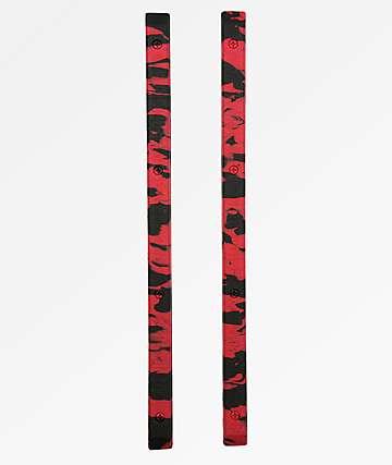Crab Grab rieles de snowboard en negro y rojo