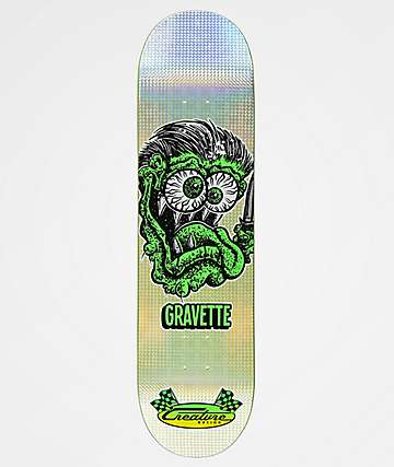 "Creature Gravette Blade Fink 8.25"" Skateboard Deck"