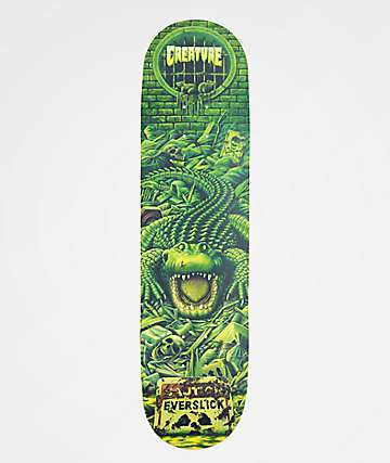 "Creature Haunted Sewers Everslick 8.0"" Skateboard Deck"