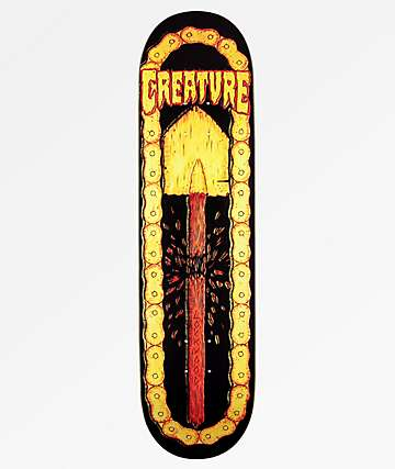 "Creature Lockwood Leather 8.25"" Skateboard Deck"