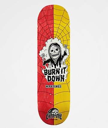 "Creature x Sketchy Tank Martinez Moji 8.6"" Skateboard Deck"