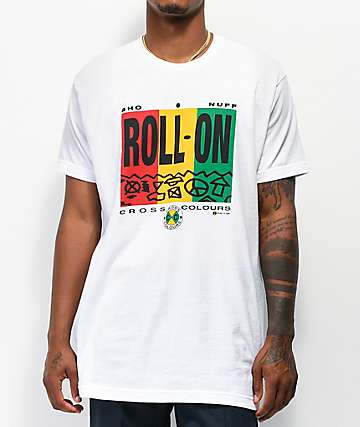 Cross Colours Roll On White T-Shirt