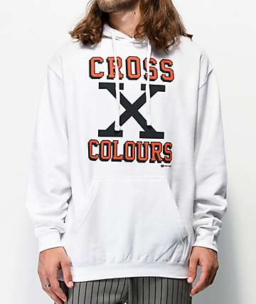 Cross Colours X White Hoodie