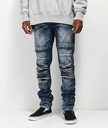 Crysp Ali Vintage Stone jeans ajustados