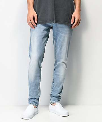 Crysp Denim Atlantic Light Blue Skinny Jeans